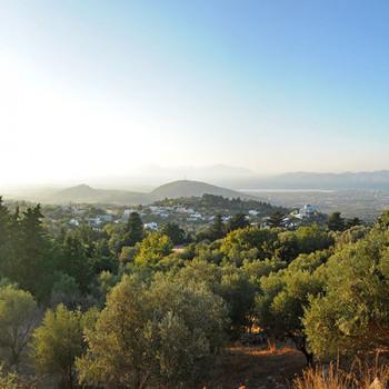 Dinner mit Aussicht bei Sonnenuntergang auf Kos in Griechenland