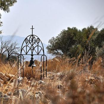 Glocke im Kastell Antimachia auf Kos