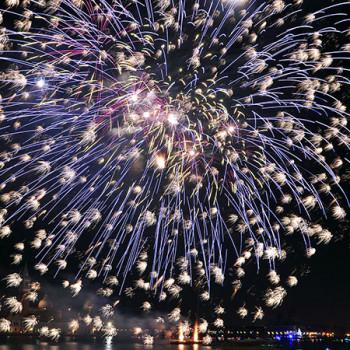 Silvester in Venedig mit großem Feuerwerk