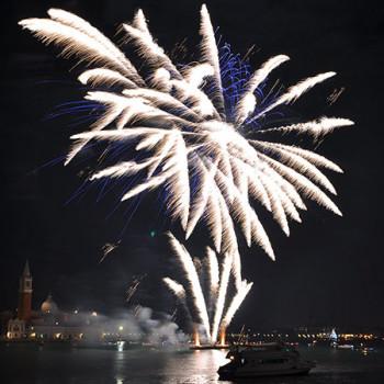 Aussichtspunkt für Feuerwerk in Venedig
