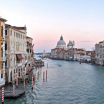 Panorama des Canal Grande in Venedig