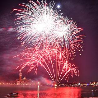 Venedig: Silvester und großes Feuerwerk