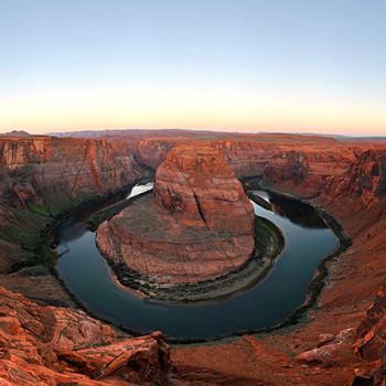 Flussschleife am Colorado River