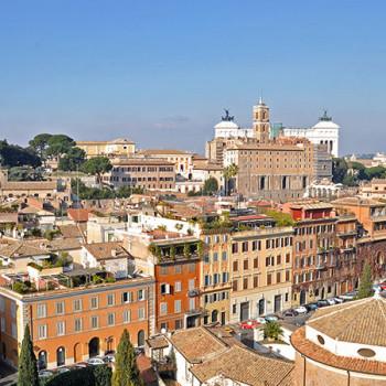 Aussicht vom Palatin in Rom