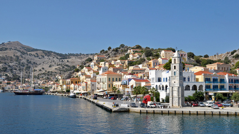 Hafen von Symi