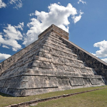 Pyramide in Chichen Itza Mexiko
