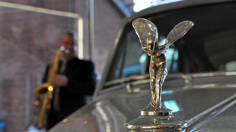 Jazz Musik und Rolls Royce in der Klassikstadt