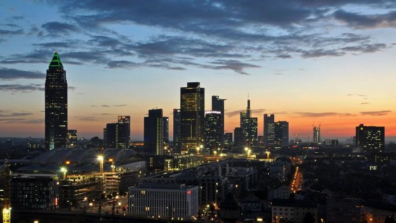 Wallpaper Frankfurt Skyline