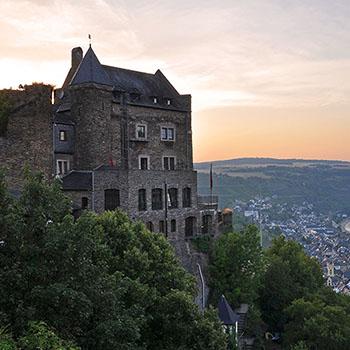 Burghotel Schönburg bei Oberwesel