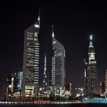 Die Skyscraper der Emirates Towers