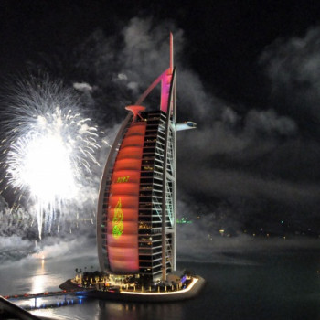 New Years Eve Fireworks Dubai