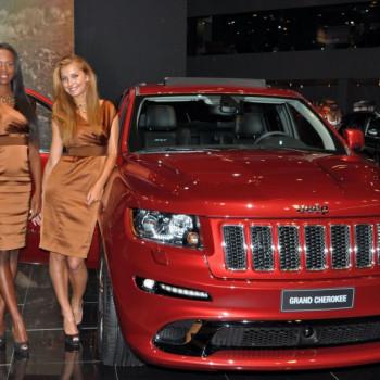 Models auf der IAA Frankfurt - Jeep