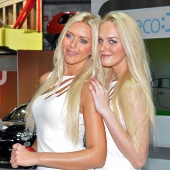 Models auf der IAA Frankfurt - Alfa Romeo