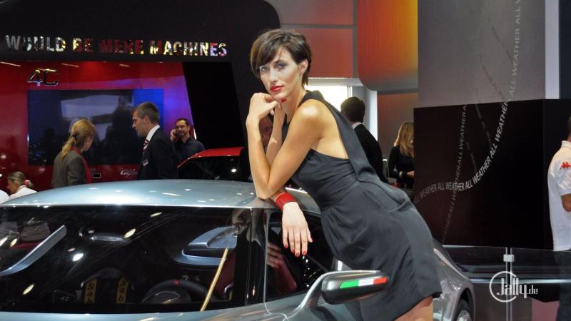 Model auf der IAA Frankfurt - Alfa Romeo