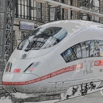 Deutsche Bahn ICE Schwäbisch Hall