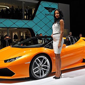 Lamborghini auf der IAA Frankfurt 2015