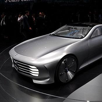 Mercedes Benz Konzept Auto auf der IAA Frankfurt 2015