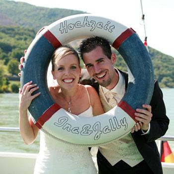 Hochzeitsbilder Schiff und Schloss (Fotograf - Teil 3v3)