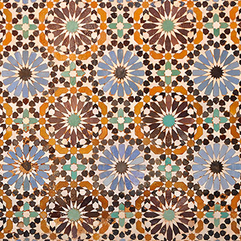Muster Arabisch aus Marrakesch