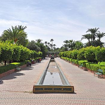 Stadtpark Lalla Hasna in Marrakesch