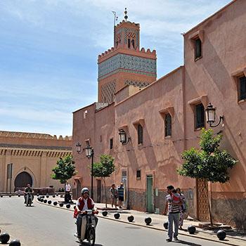 Kasbah Moschee in Marrakesch