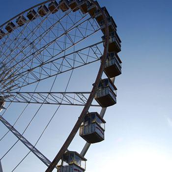 Riesenrad in Antwerpen