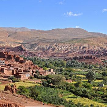 Reisevideo Berge Marokko und Telouet Kasbah