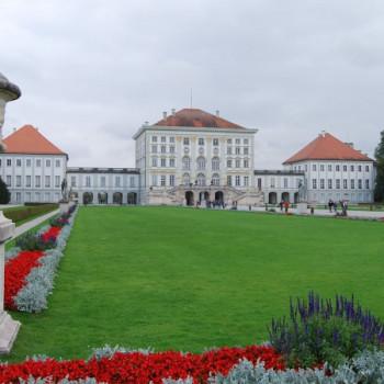 Garten von Schloss Nymphenburg in München