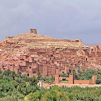 Palast Ait Ben Haddou in Marokko