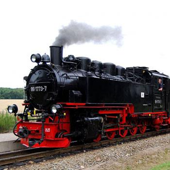 Dampflok  - Rasender Roland auf Rügen
