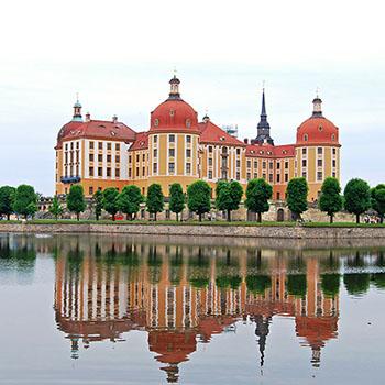 Wallpaper Schloss Moritzburg bei Dresden