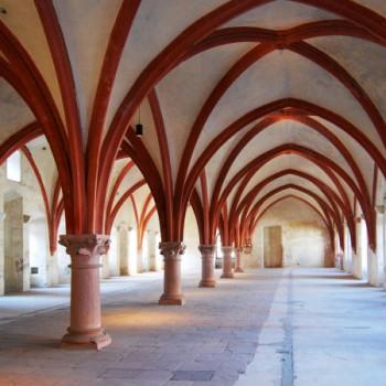 Schlafsaal im Kloster Eberbach im Rheingau