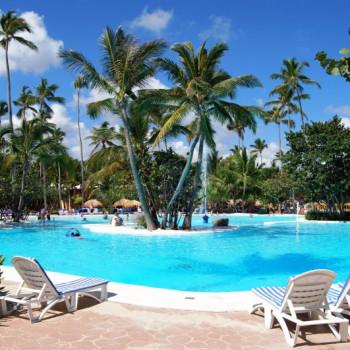 Hotelpool des IBEROSTAR Bavaro Suites in Punta Cana